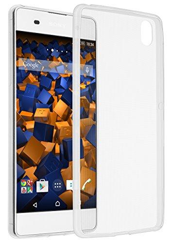 mumbi UltraSlim Hülle für Sony Xperia XA Schutzhülle transparent (Ultra Slim - 0.55 mm)