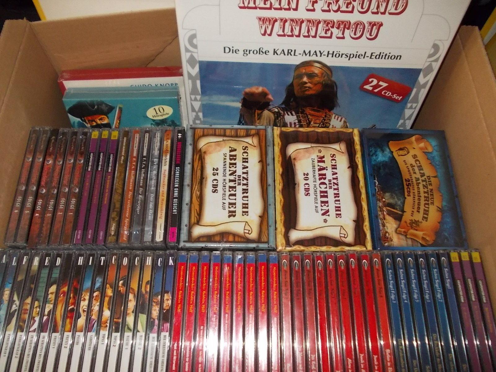 172 CD Hörspiele * Macabros, Alfred Hitchcock, Balduin Pfiff, Meteor Horror uvm.