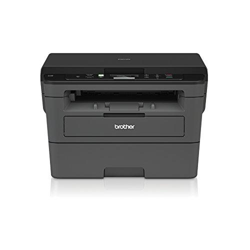 Brother DCP-L2530DW Kompaktes 3-in-1 S/W-Multifunktionsgerät (Drucken, Scannen, Kopieren, A4, echte 1.200x1.200 dpi, Duplexdruck, 250 Blatt Papierkassette, USB 2.0, WLAN)