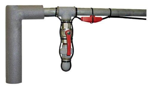 KERBL Frostschutz-Heizleitung mit Thermostat, 230 V, Länge 4 m, 64 W bei 0°
