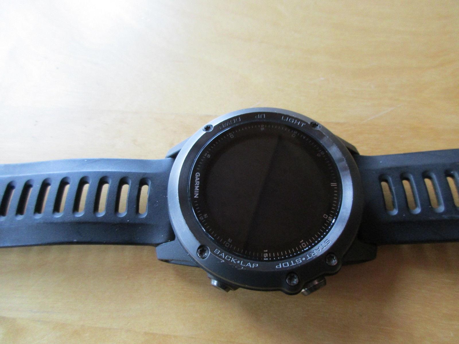GARMIN fenix 3 HR GPS Sapphire Edition Saphir mit Pulsmessung am Handgelenk