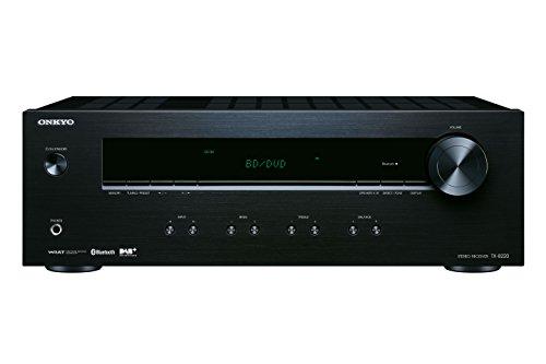 Onkyo Europe Electronics TX-8220-B Stereo-Receiver mit integriertem Bluetooth, DAB+ und FM/RDS-Radio, Kanal, 100W schwarz