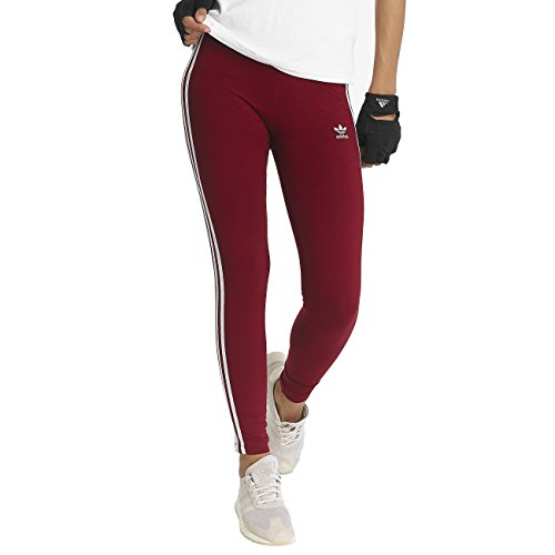 adidas originals Damen Hosen / Legging 3 Stripes rot 46