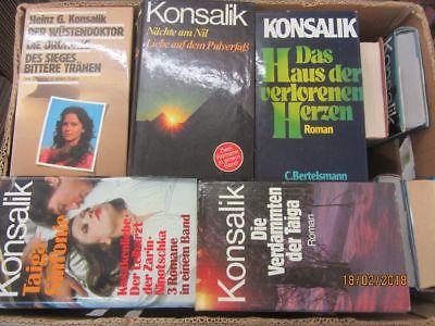Heinz G.Konsalik 35 Bücher Romane Liebesromane Kriegsromane Schicksalsromane