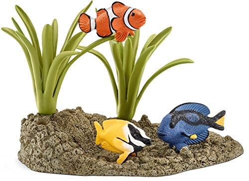 Schleich 42327- Spielzeugfigur, Korallenfische