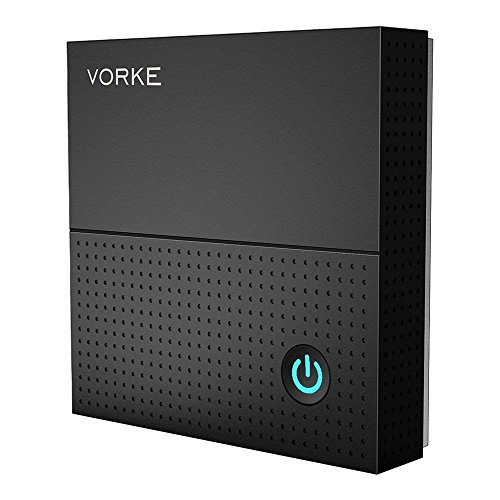 Android TV Box,VORKE Android 7.1.2 Amlogic S912 64 Bit eMMC/ HDR/1000M LAN / Dual-Band WiFi / Bluetooth 4.1 H.265 4K Smart TV Box