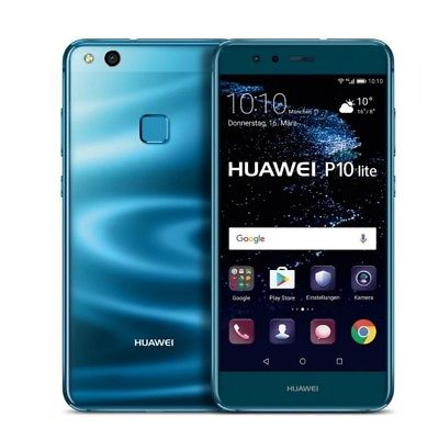 Huawei P10 Lite WAS-TL10  Dual SIM 64GB ohne SIM-Lock - Blau