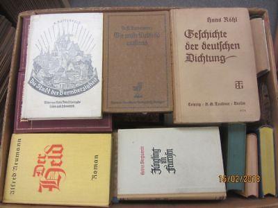 42 Bücher antiquarische Bücher
