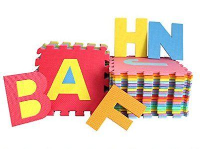 Style home® Bodenmatte Puzzlematte Spielmatte Kinderteppich Lernteppich 86tlg.