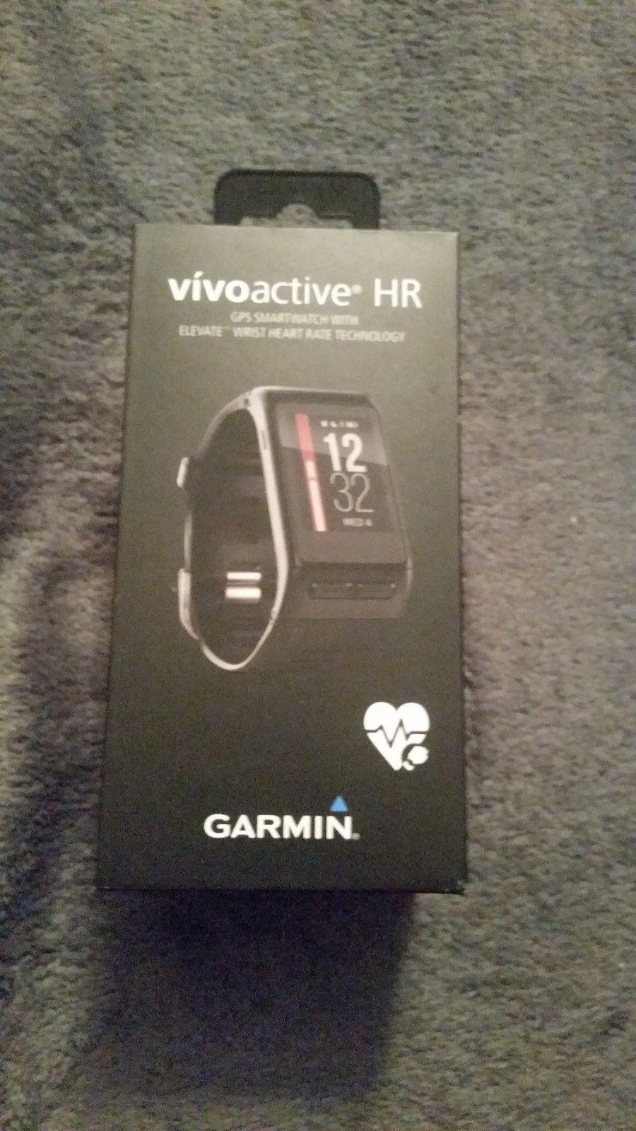 GARMIN Vivoactive HR Regular, Sport-GPS-Smartwatch mit Herzfrequenzmessung