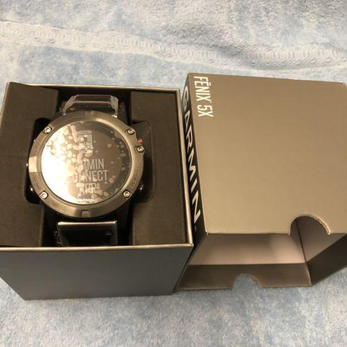 Garmin Fenix 5X Saphirglas GPS Neu
