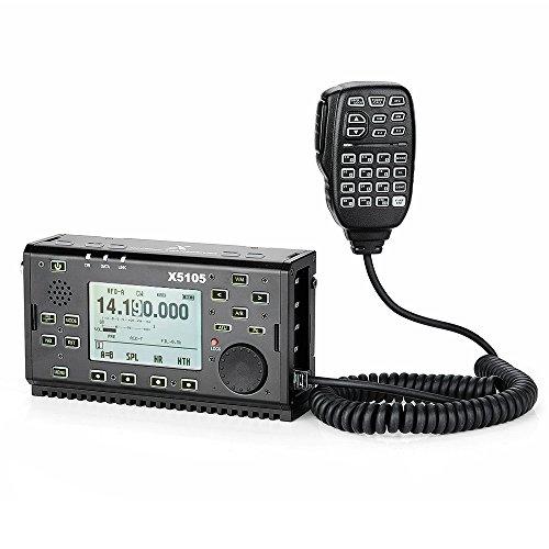 XIEGU X5105 Tragbarer HF-Transceiver OUTDOOR VERSION, 500kHz-30MHz 50MHz-54MHz 5W 3800mAh, mit ZF-Ausgang, SSB / CW / AM / FM / RTTY / PSK-Lightwish