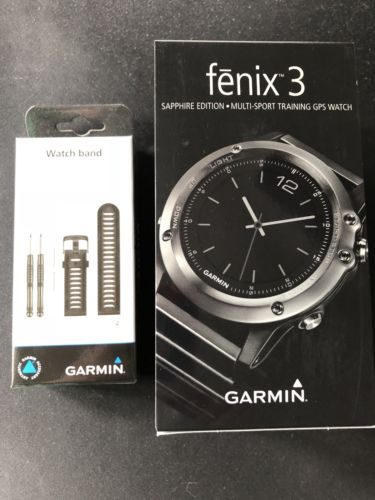 Garmin Fenix 3 Saphire Edition mit Brustgurt
