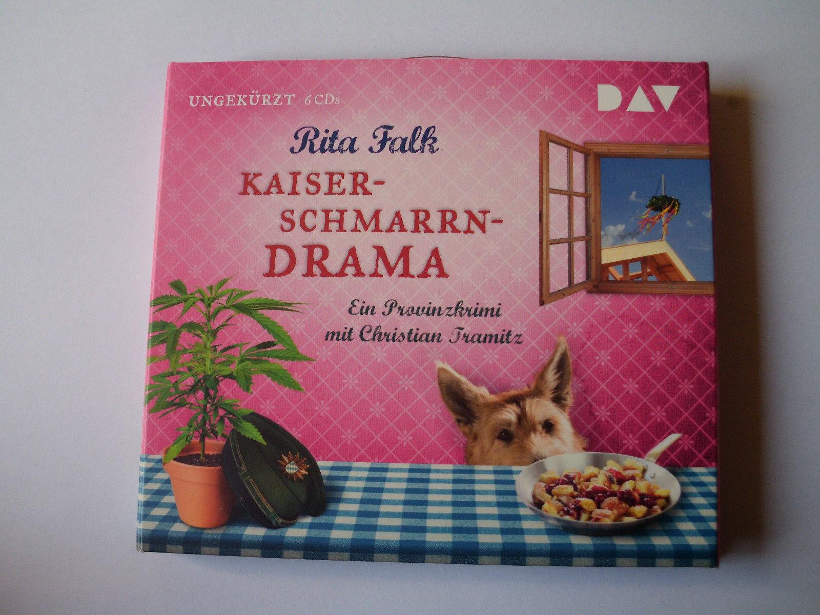 Hörbuch Kaiserschmarrndrama v. Rita Falk 6 CD ´s neuwertig