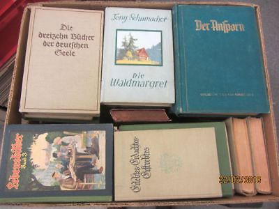 60 Bücher antiquarische Bücher Paket 2