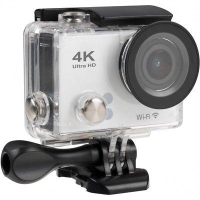 4K Wi-Fi Action Camera silver
