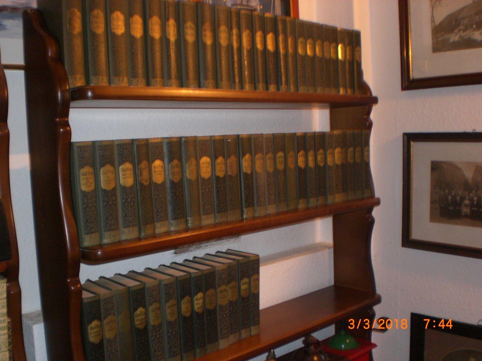 Karl May Sammlung 60 Bände Konvolut Verlag Bamberg Literatur (Fotos!)