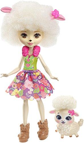 Mattel Enchantimals FCG65 - Schafmädchen Lorna Lamb, Puppe