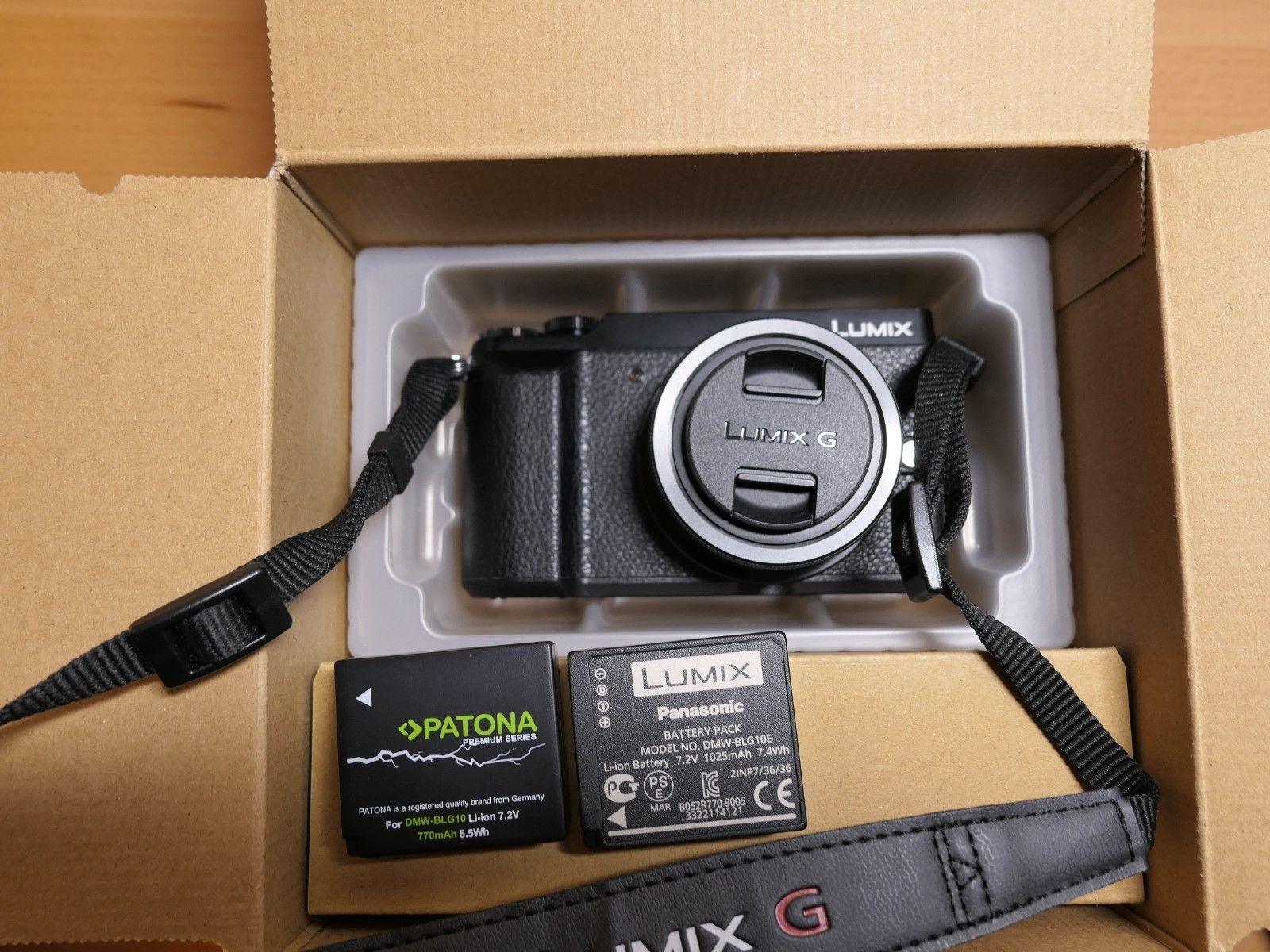 Panasonic LUMIX GX80K 16.0MP Digitalkamera - Schwarz (Kit mit 12-32mm Objektiv)