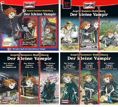 12 CDs * DER KLEINE VAMPIR - HÖRSPIEL BOX 1 - 4 (FOLGEN 1-12) IM SET # NEU OVP =