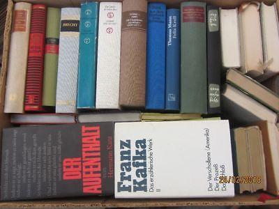 39 Bücher Romane deutsche Klassiker Kafka  Kant Brecht Mann  u.a.