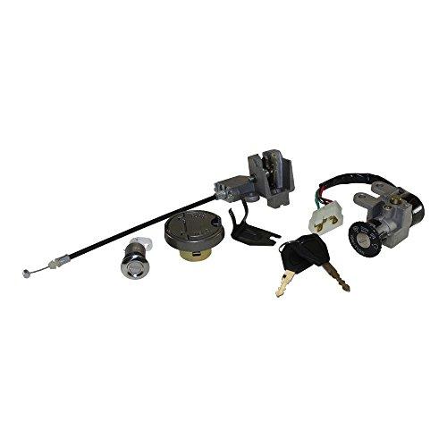 Zündschloss Schlosssatz 5 Pin Version für 4 Takt China Roller z.B. Baotian, Buffalo, MKS, Rex RS 450