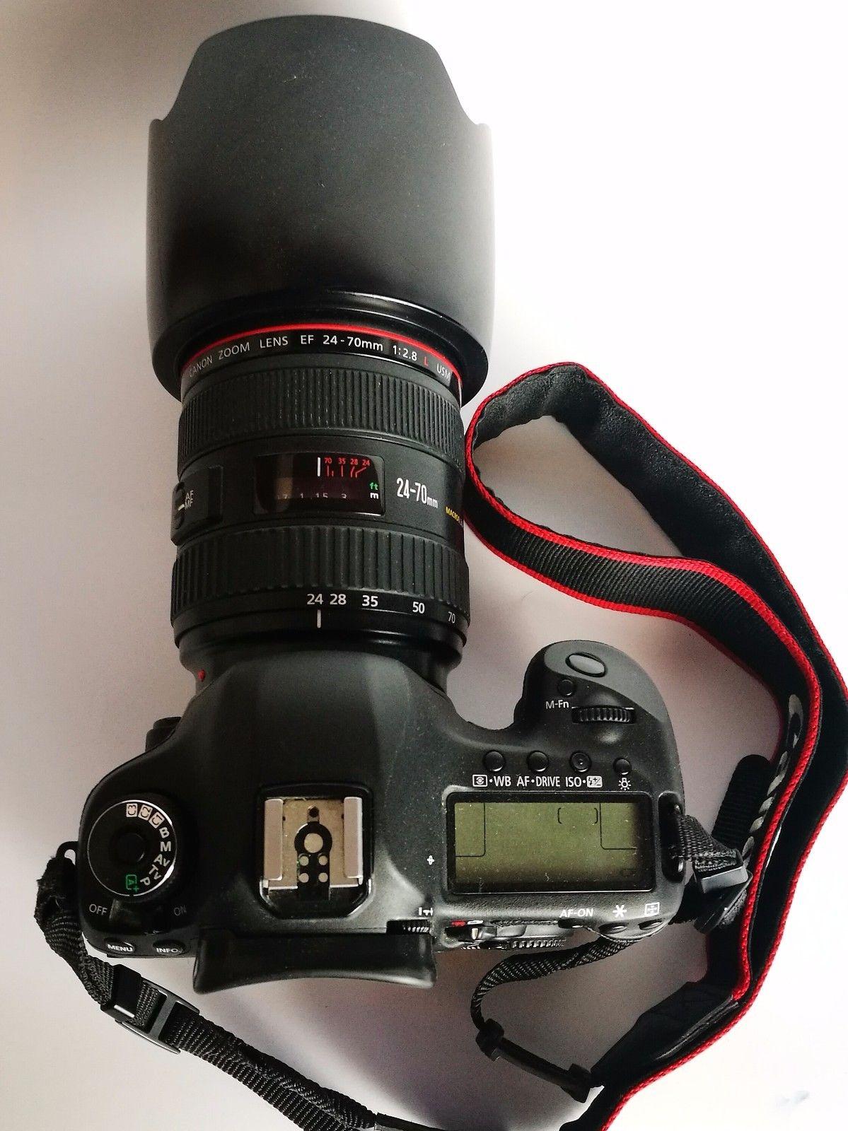 Canon EOS 5D Mark III 22.3 MP + Zubehörpaket Canon EF 24 - 70mm 1:2.8