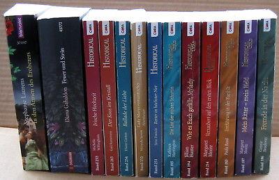Bücherpaket 13 historische Romane Liebesromane Diana Gabaldon Margaret Moore & &