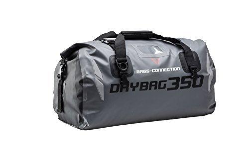 SW MOTECH Hecktasche Drybag 350 Tarpaulin Grau /schwarz Wasserdicht 35 l