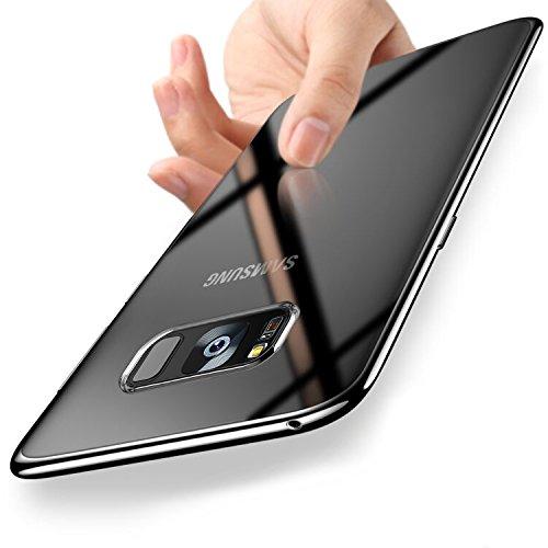 Samsung Galaxy S8 Plus Hülle, Orlegol Liquid Crystal Galaxy S8 Plus Handyhülle TPU Bumper Case Soft Silikon Hülle Anti-Scratch Schutzhülle Tasche für Samsung Galaxy S8 Plus Cover Case - Transparent