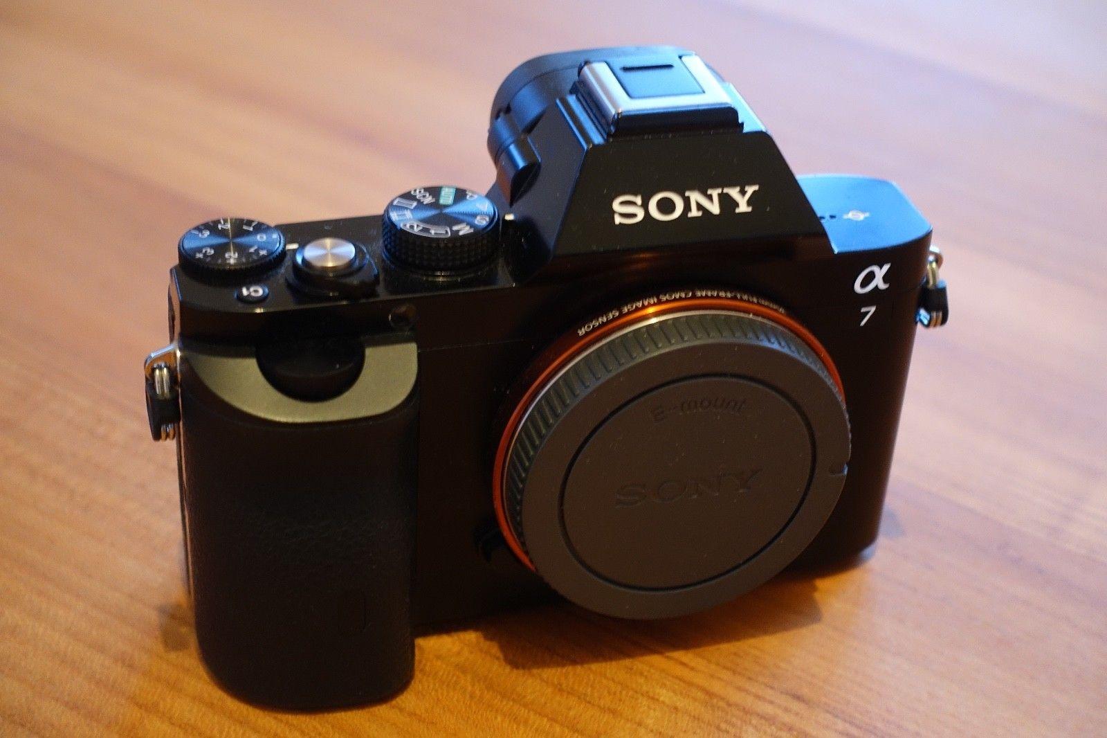 Sony Alpha ILCE-7 24.3 MP - Body only - Gehäuse, Sony A7 mit extras 1.448 Bilder