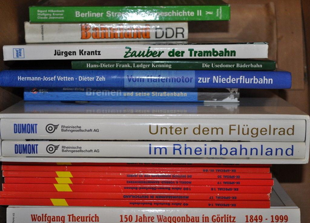 Eisenbahnbücher - Sammlung ca. 90 Stück - nur Eisenbahn