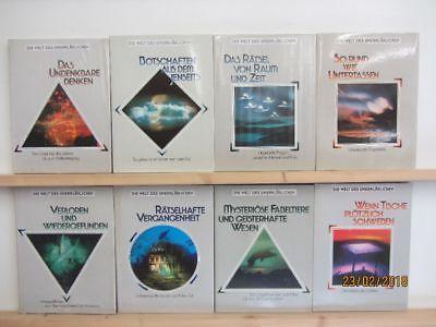 Die Welt des Unerklärlichen 12 Bände Unglaubliches Mystisches Ufo
