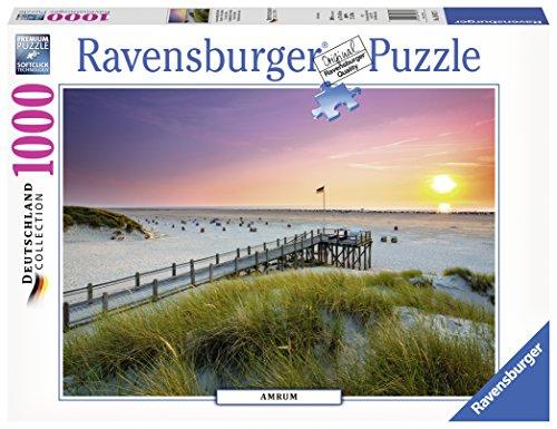 Ravensburger Puzzle 19877 Sonnenuntergang über Amrum
