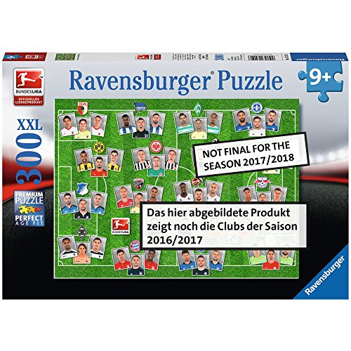 Ravensburger 13239 - Bundesliga 2017/2018 Kinderpuzzle