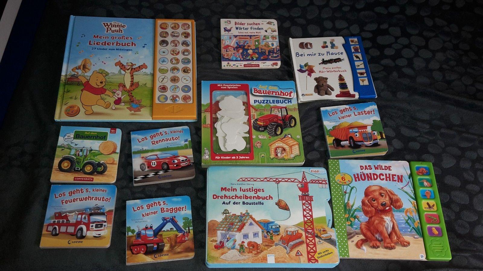 Kinderbücher Paket  manche sogar mit Sound