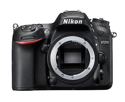 Spiegelreflexkamera Nikon D7200 (24,1 MP) DSLR, NUR GEHÄUSE (body), GEBRAUCHT