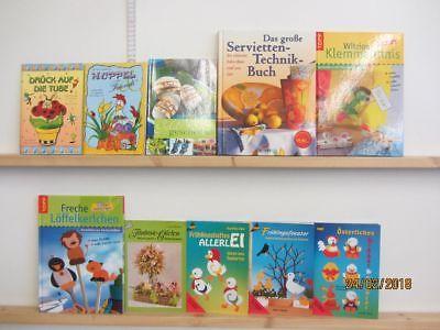 93 Bücher Hefte Basteln Bastelbücher Windowclor Origami Naturbasteln