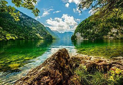 Puzzle Castorland 1500 Teile - Lake Koenigsee in Germany (54406)