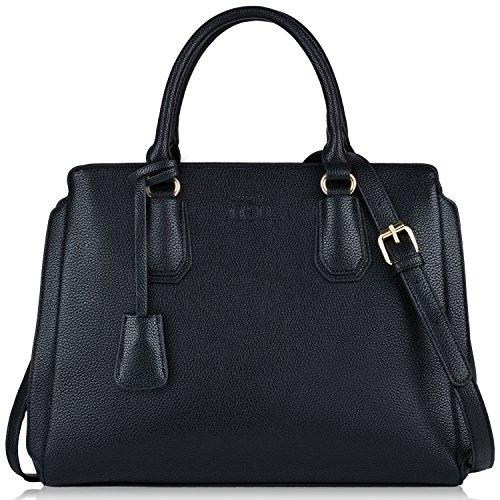 Handtaschen Damen,Coofit Dmenhandtaschen Lederhandtasche Schultertaschen Henkeltaschen Umhängetaschen Tasche