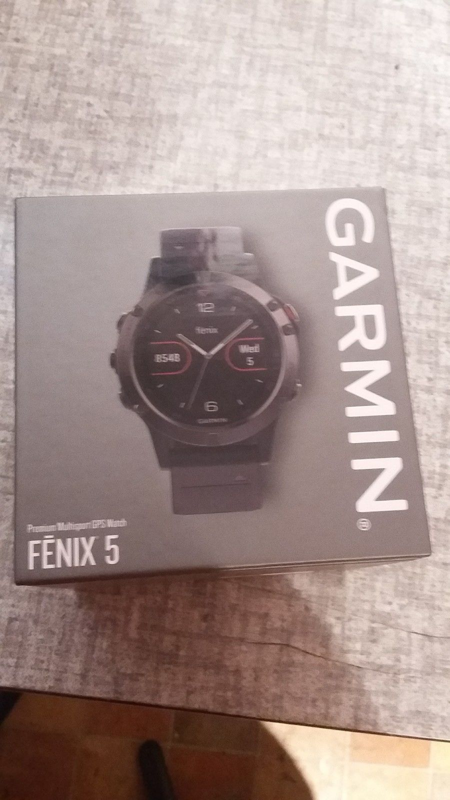 Garmin, Fenix 5 , Edition Premium Multisport GPS Watch, Sportuhr, Neu verpackt