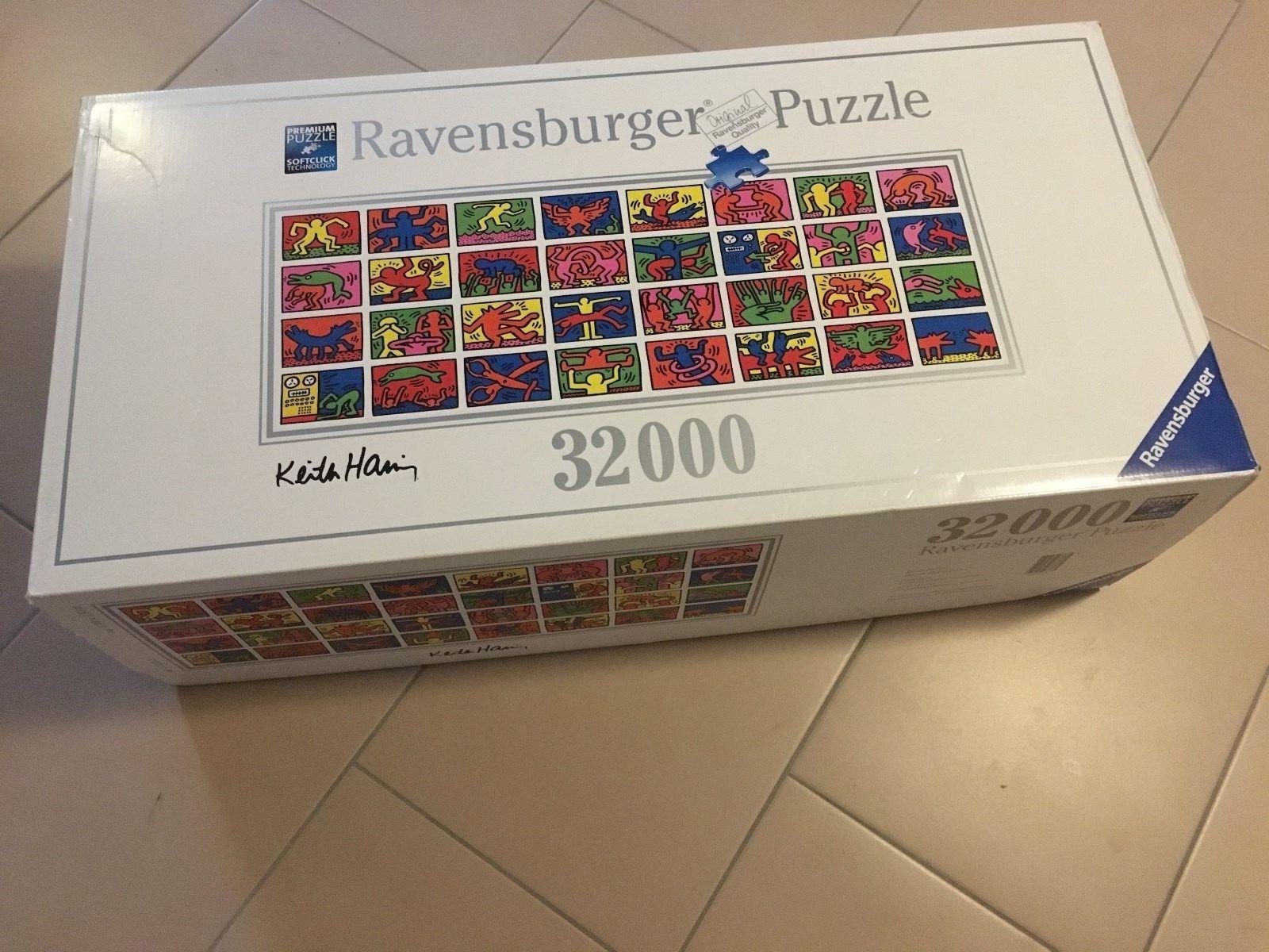 Ravensburger Puzzle 32000 Teile, Keith Haring, Rarität, Neuwertig
