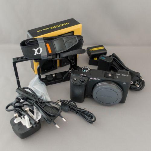 Sony Alpha A6300 Gehäuse (schwarz, 38 Auslösungen, top Zustand)