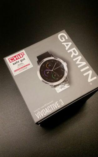 Garmin VIVOACTIVE 3 SCHWARZ / GRAU SMARTWATCH GPS SPORTUHR