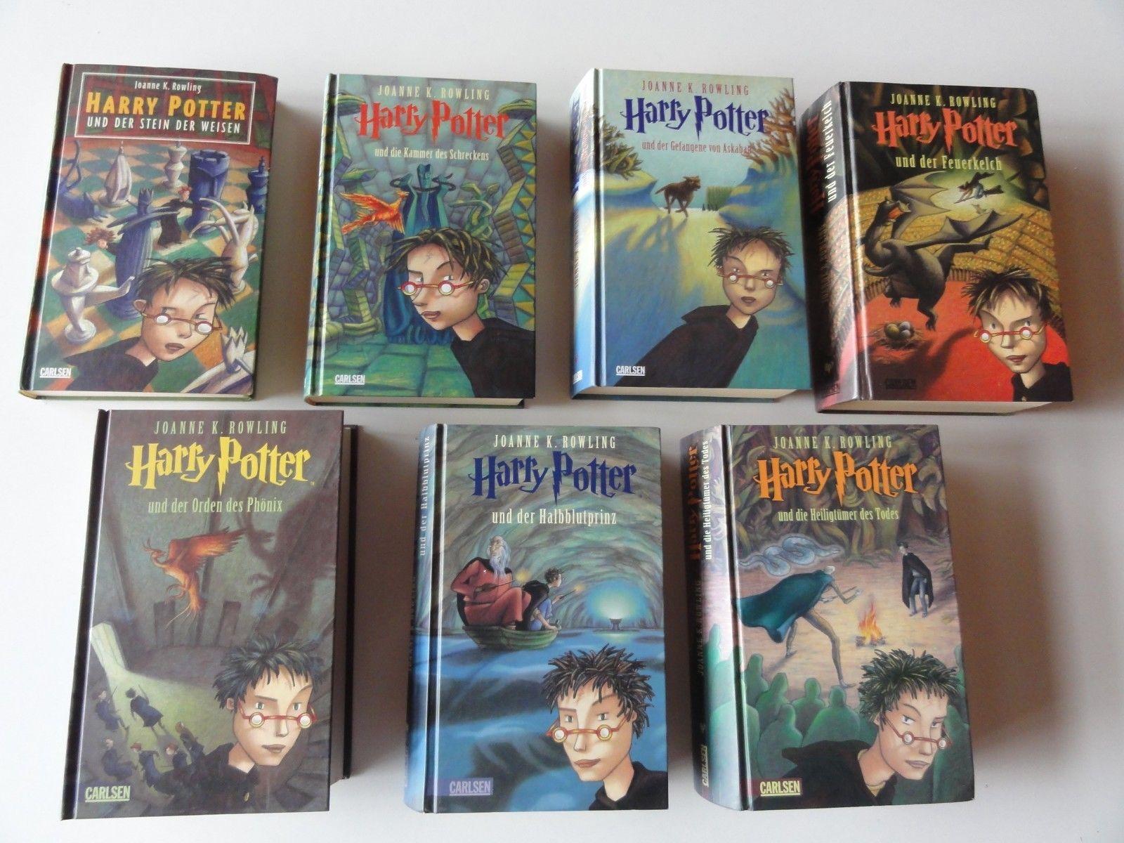 Harry Potter 1 - 7 komplette Ausgabe, gebundene Bücher, Joanne K ...