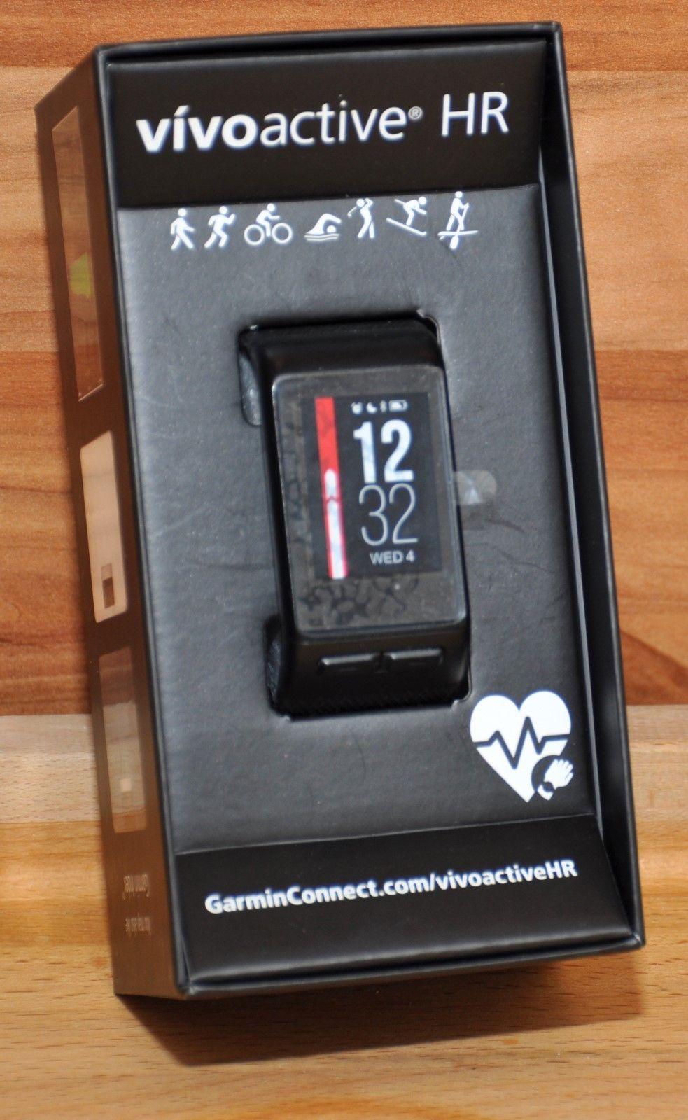 Garmin vivoactive HR Sport GPS-Smartwatch, Sportapps, inkl. Restgarantie