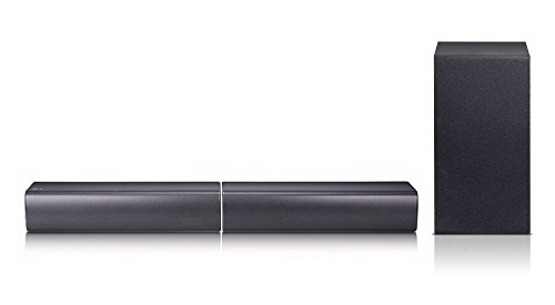 LG SJ7 2.1 Soundbar (320W, kabelloser Subwoofer, Bluetooth) schwarz