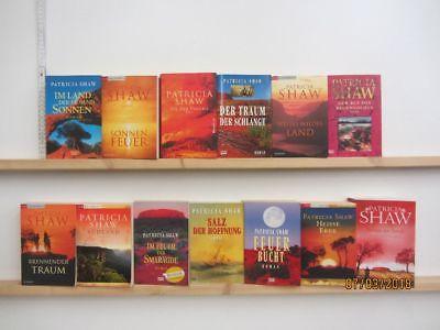 Patricia Shaw 13 Bücher Romane historische Romane  Top Titel Bestseller