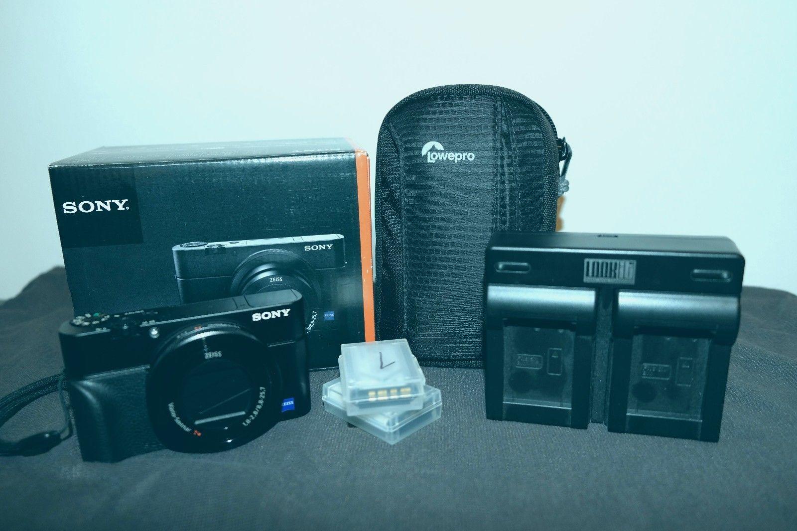 Sony Cyber-shot DSC-RX100M3 / III 20 MP Digitalkamera + Zubehörpaket & Garantie