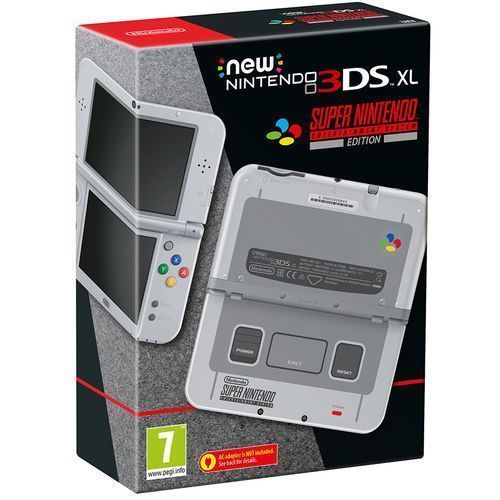 Nintendo Handheld Console 3DS XL - New Nintendo 3DS XL SNES Edition Nintendo 3DS
